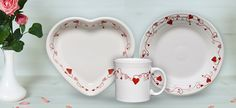 Fill Your Heart with Fiesta Dinnerware - NEW Valentine's Day Pattern!