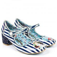 Irregular Choice-Alice in Wonderland 'Tick Tock' mary jane