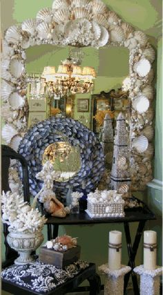 Beach House, Shell Mirror and much more...