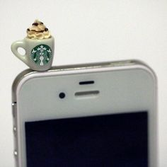 Starbucks coffee dust plug!