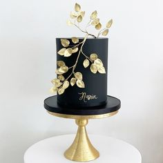 """Mickey's Instagram post: """"Bold & Beautiful for Nasrin 🖤"""" Table Lamp, Birthday Cake, Instagram Posts, Wedding, Cakes, Beautiful, Decor, Valentines Day Weddings, Lamp Table"""