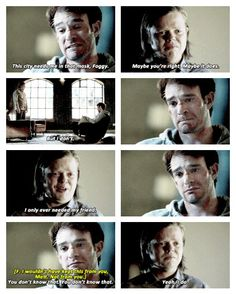This scene killed me. <-- they're sad moment of broship was both completely amazing and not at all okay