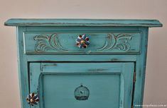 Moroccan Theme, Color Turquesa, Palazzo, Painted Furniture, Dresser, Ideas Decoración, Antiques, Home Decor, Bedside Desk