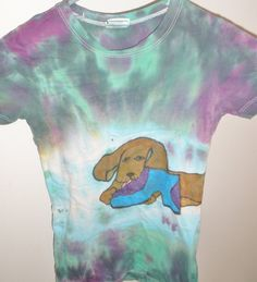 Dachshund Puppy Shoe Testers Wiener Dogs Tie by SassySashadoxie, $15.00