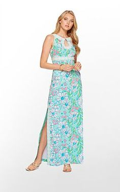 Love the colors in this maxi!