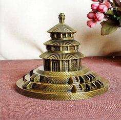 Beijing Temple of Heaven building Bronze FREE SHIPPING worldwide  Money back guarantee ✅ 39% DISCOUNT!!!