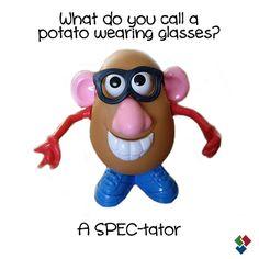 #OpticalHumor #EyeHumor  #MrPotatoHead  Eye Associates of Winter Park  http://www.eyeassociateswp.com/  928 Howell Branch Road  Winter Park, FL 32792  P: 407-671-5445 | F: 407-671-2899