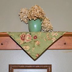 Decorating with Napkins or Placemats from Through the Country Door®
