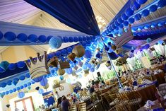 Riley's Royal Prince Themed Party – Ceiling Prince Birthday Theme, 5th Birthday, 1st Birthday Decorations, Birthday Party Themes, Royal Prince, Themes Themes, Backdrops For Parties, 1st Birthdays, Ceiling