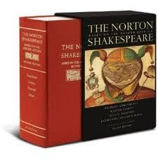 Hell, why not? Not the most stylish thing I own, but possibly the most used besides my toothbrush: the Norton Anthology of Shakespeare, 2nd Edition