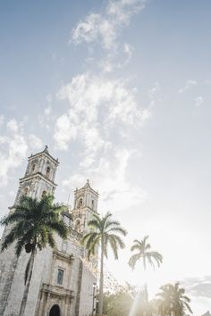 The Old Spanish Colonial Church in Valladolid Mexico  Yucatan Off the Beaten Path Travel Guide - Tulum, Playa del Carmen, Coba, Isla Holbox Where to Eat & Stay - Coqui Coqui, Restaurants, Boutique Hotels, Shopping, Cenotes, Spas