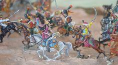 HANAU, La charge de la cavalerie de la Garde