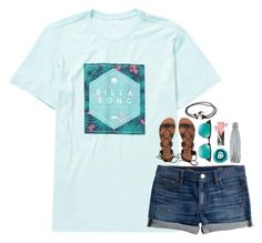 """""""rewatching the arrow"""" by julesamber ❤ liked on Polyvore featuring Billabong, Ray-Ban, J.Crew, S'well and Joie"""