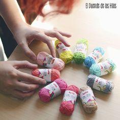 Katia Amigurumi 100% Cotton, algodón 100% pensado especialmente para crear amigurumi. Crochet Accessories, Fabric Samples, Spinning, Amigurumi Patterns, Thinking About You, Create, Toss Pillows