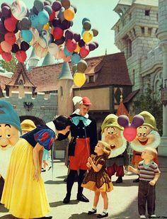 Disneyland, 1961.