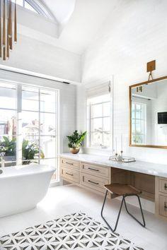 Future Home Interior .Future Home Interior Bathroom Layout, Bathroom Interior Design, Modern Interior Design, Small Bathroom, Interior Decorating, Paint Bathroom, Bathroom Furniture, White Bathrooms, Gold Bathroom