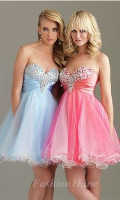 The blue one is like My dream dress for grad!!