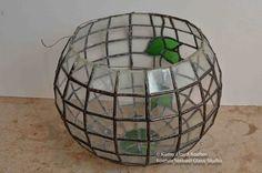 Resultado de imagen de stained glass terrarium
