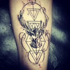 #tatoo #deer #jagermeister #vector