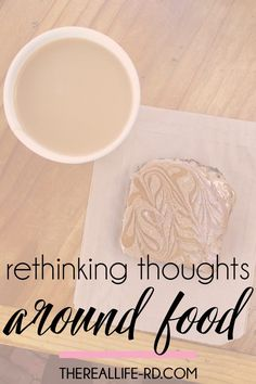 Maybe it's not you, but perhaps it's your thoughts and beliefs about food. | The Real Life RD