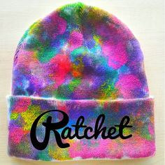 ratchet clothing ~ ombre hat