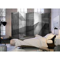 Geometry, Decoration, Concrete, Divider, Curtains, Furniture, Design, Home Decor, Inspiration