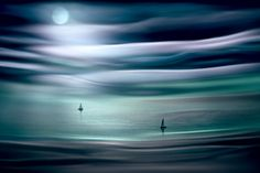 Photographic Print: Sailing by Moonlight by Ursula Abresch :