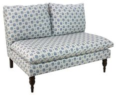 Bacall Settee, Indigo - Shop All Kids - Unfiled - Sales Events   One Kings Lane