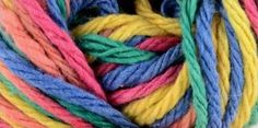 Premier Home Cotton Grande Yarn - Rainbow