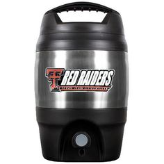 Texas Tech University Stainless Steel Gallon Keg Jug