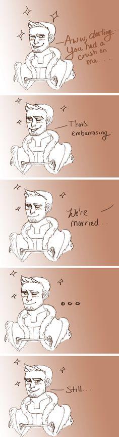 """""""Classic dorky Alistair."""""""
