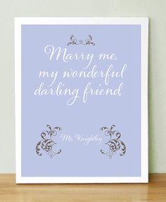 Mr Knightley to Emma ~ Emma - Jane Austen