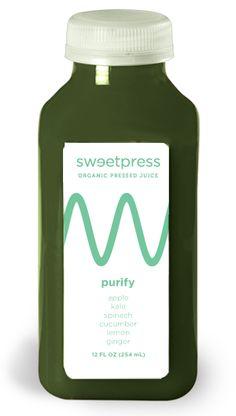 juicing ideas- sweetpress purify