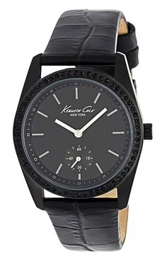 Kenneth Cole New York Women's KC2603 Analog Black Dial Watch * Check out the image by visiting the link. (This is an Amazon Affiliate link and I receive a commission for the sales)