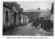An image from the Dublin Housing Report, published in the wake of the Church Street tenement collapse in 1913 Photo: South Dublin County Libraries Scary Comics, Irish Independence, Dublin House, Ireland Pictures, Photo Engraving, County Library, Slums, Dublin Ireland, More Photos