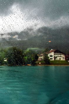 rainy day on Cape Cod