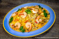 Persian Shrimp Quinoa Herb Rice is an adapted version of a traditional dish. Skillfully sneak in some whole grains and fiber to your picky rice eaters!!