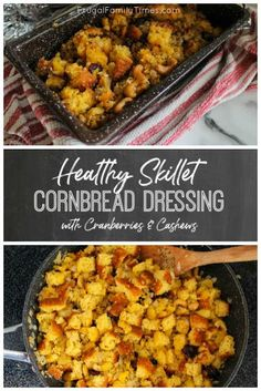 Your family will love this healthy cornbread dressing! This skillet cornbread st. - Cheap home decor - Cornbread dressing Your family will love this healthy cornbread dressing! This skillet cornbread st. - Cheap home decor - Healthy Cornbread, Skillet Cornbread, Cornbread Stuffing, Crockpot Side Dishes, Cornbread Dressing, Stuffing Recipes, Casserole Recipes, Family Meals, Family Recipes