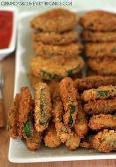 Deep-Fried Zucchini. My husband and I just made this and everyone is loving it!
