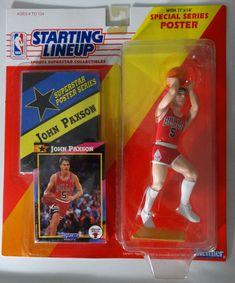 Nba Action Figures, Nba Basketball, Chicago Bulls, Lineup, Baseball Cards, Ebay