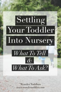 In this article, I give advice on what you must tell your child's new teachers and what to ask to make the settling in as smooth and safe as possible.  Head over to my article by clicking on the image :)  Like and share : ) and if I left out something, please feel free to comment down below with your ideas and opinion!  Love, Eva  #wondertoddlers #settlingin #settlingintonursery #toddlers #children #preschool #nursery #september #earlyyears #education #teachers #parenting #parents