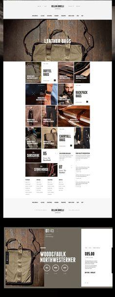 webdesign / bellini borelli #ecommerce #webdesign #inspiration