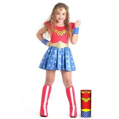 Fantasia Mulher Maravilha Roupa Criança Super Heróis - R$ 166,45 Halloween Outfits, Halloween Costumes, Wander Woman, Creative Costumes, Hero Girl, Homemade Costumes, Child Day, Disney Junior, Girl Costumes
