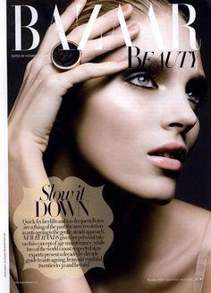 Harper's Bazaar UK Editorial Bazaar Beauty Slow it Down, October 2010