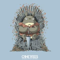 Mashup Totoro vs Game of Thrones (Trône de fer)