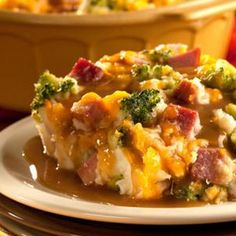Ham and Potato Bake #recipe