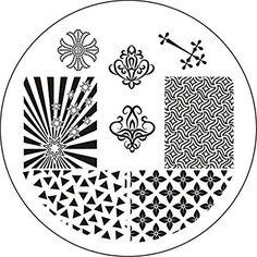 Born Pretty Nail Art Stamping Template Image Plate Glaring Star Theme BP14 Born Pretty http://www.amazon.com/dp/B018JXDMDQ/ref=cm_sw_r_pi_dp_L9U7wb02Y078C
