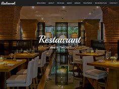 In this post we have collected 27 Free Restaurant & Cafe HTML Website Templates suitable for creating websites for restaurants, coffee shops, pubs, catering companies, etc. Restaurant Website Templates, Html Website Templates, Bootstrap Template, Catering Companies, Create Website, Wordpress Theme, Coffee Shop, This Is Us, Web Design