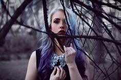 """Deep in the Wood"" — Photographer: Franziska Lichtenberger Model: Snow White Nadine"