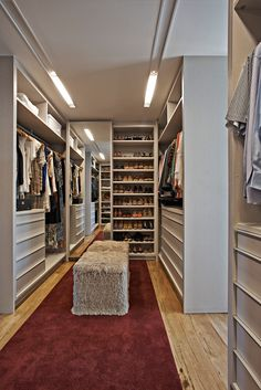 Double sided shoe storage behindbfull length mirror. Needs to have shelves that can accommodate boots as well